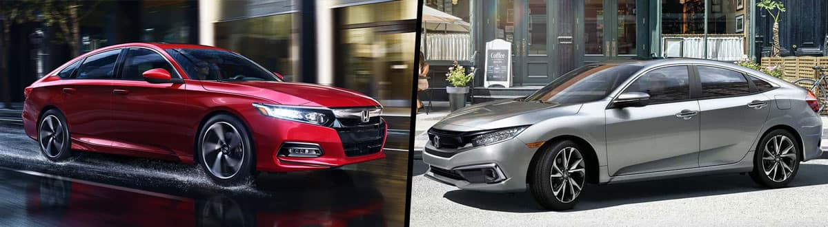 2019 Honda Accord vs 2019 Honda Civic