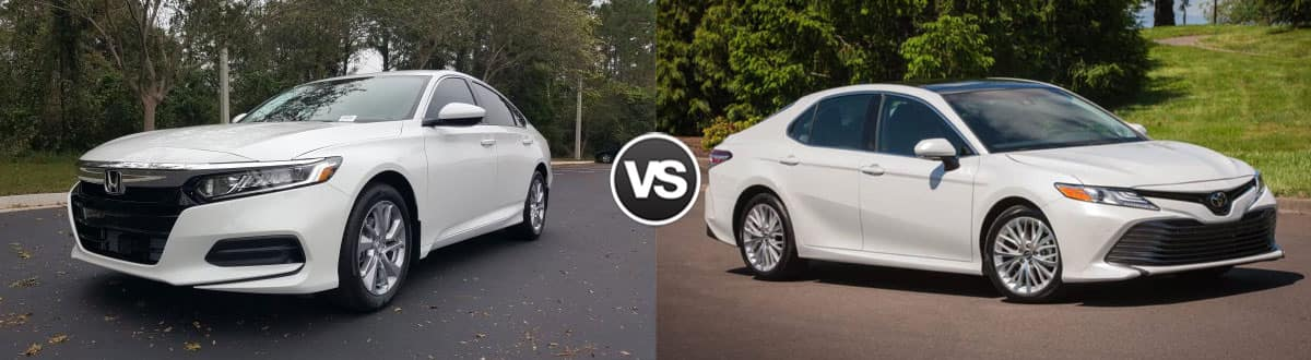 Toyota Camry Vs Honda Accord >> Compare 2019 Honda Accord Vs 2019 Toyota Camry Highland In