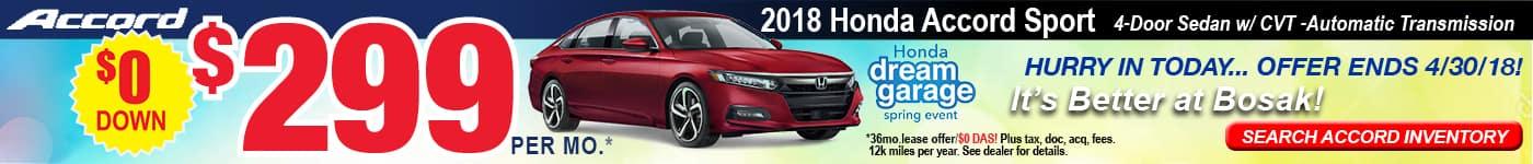 Accord Bosak Honda Ad April