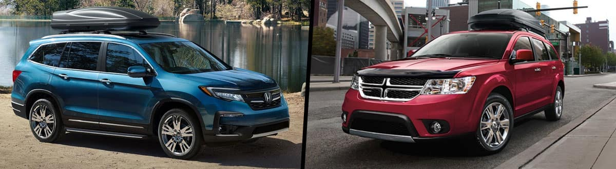 2019 Honda Pilot vs 2018 Dodge Journey