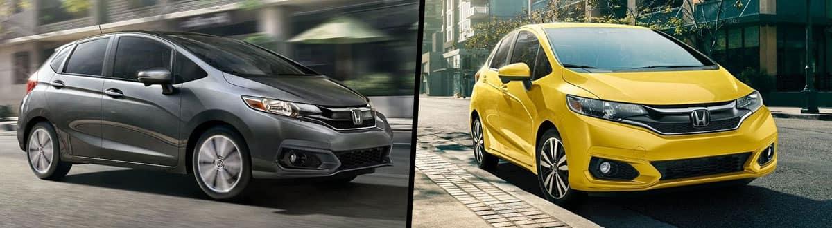 2019 Honda Fit vs 2018 Honda Fit