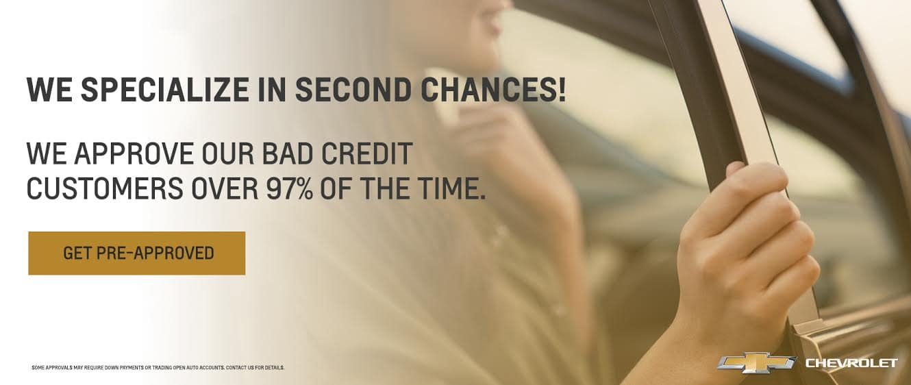 Bad Credit, No Credit, No Problem!