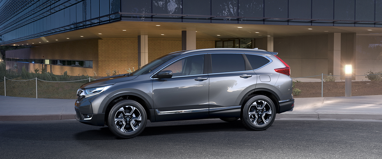 2017 Honda CR-V AWD Exterior Side Profile