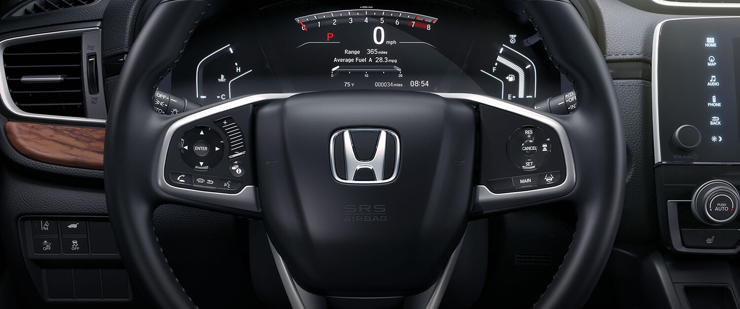 2017 Honda CR-V AWD Dashboard