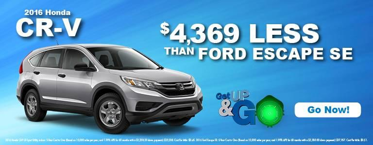 Get Up And Go With Central Illinois Honda CR-V