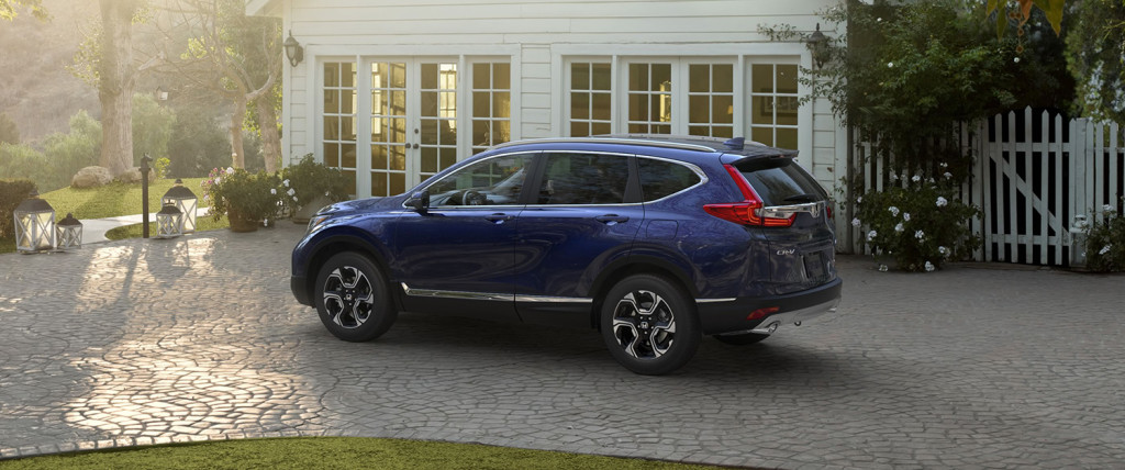 2017 Honda CR-V Exterior Side Blue