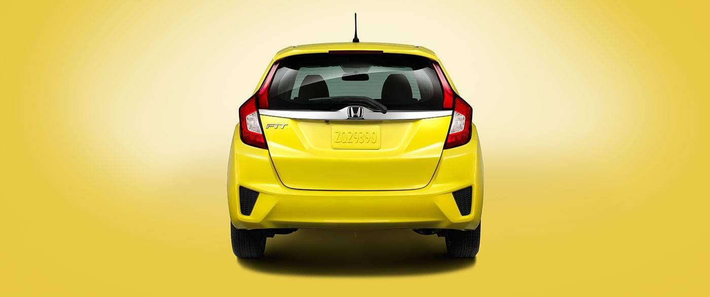 2017 Honda Fit Rear View