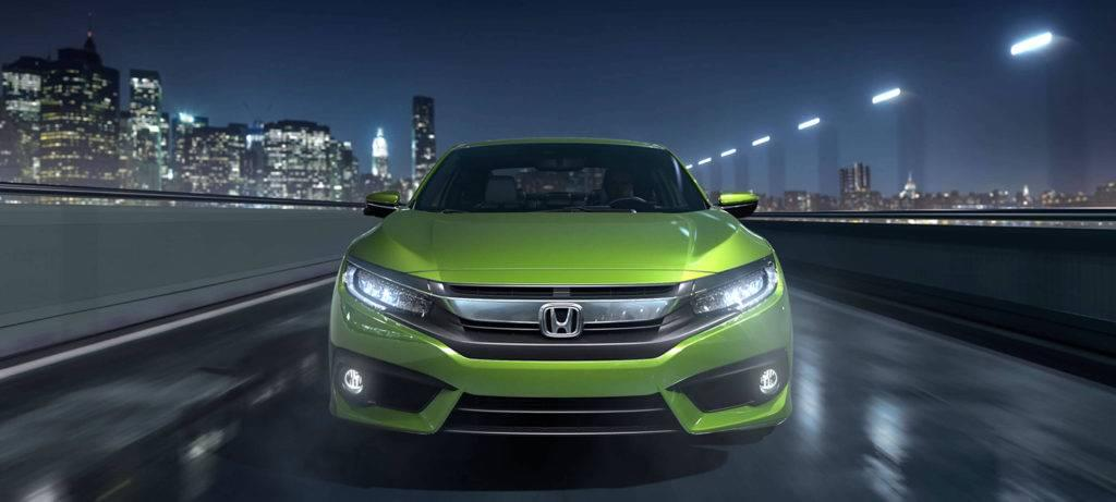 2017 Honda Civic Coupe Exterior Front Grille