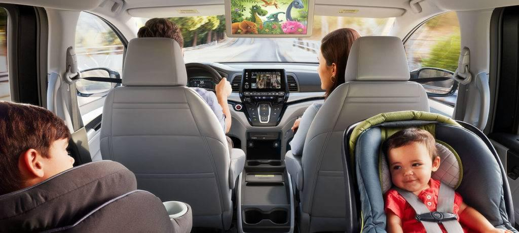 2018 Honda Odyssey Interior Rear Entertainment System