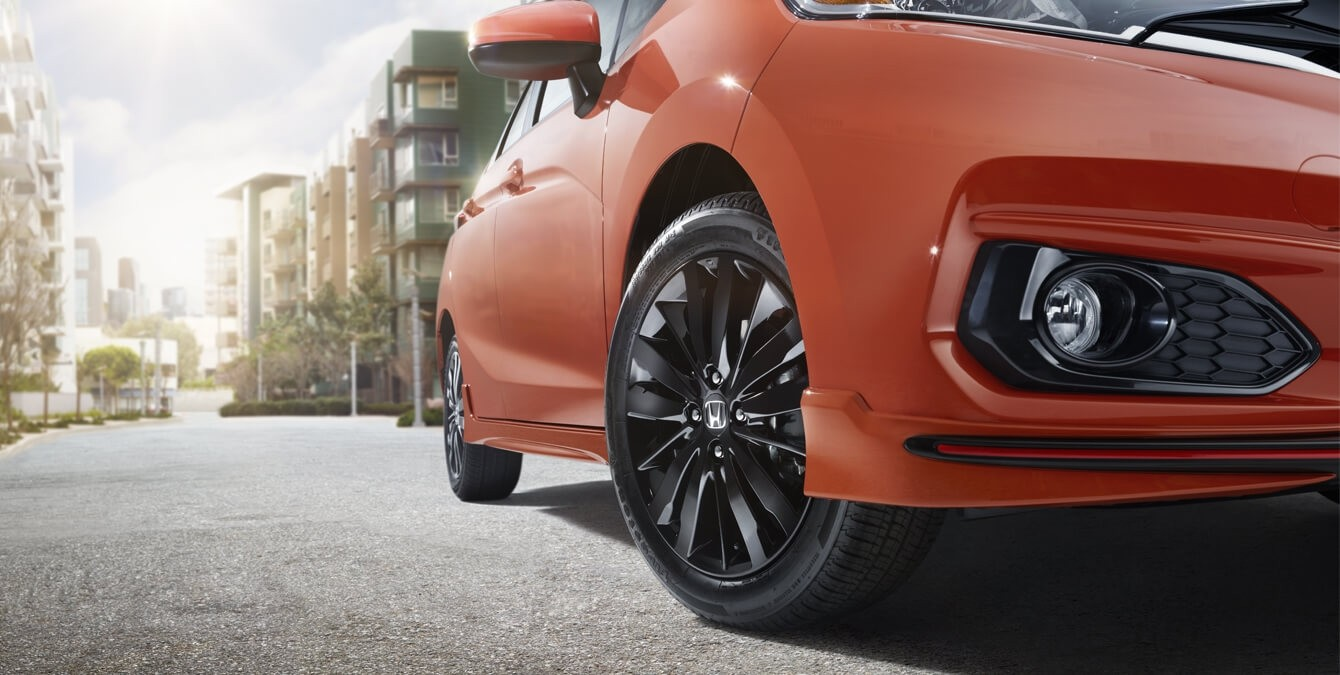 2018 Honda Fit Exterior Wheels