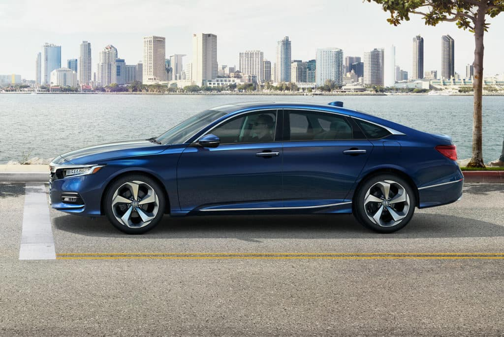 2018 Honda Accord Sedan Exterior Side Profile Driver Side