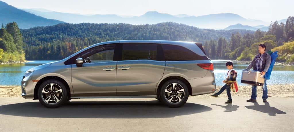 2019 Honda Odyssey Exterior Lake Side Profile