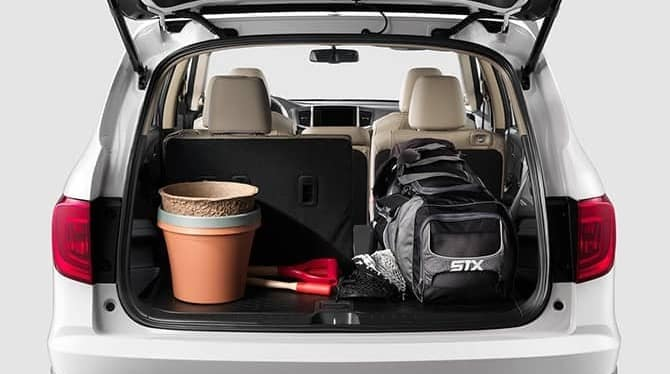 2018 Honda Pilot Trunk Storage