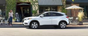 2019 Honda HR-V Exterior Side Profile White