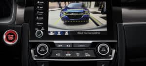 2019 Honda Civic Sedan Interior Rearview Camera