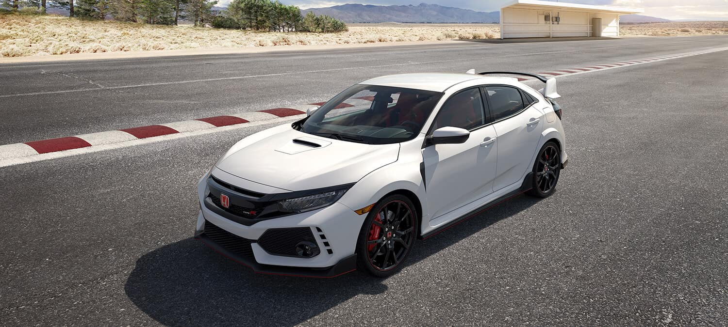 2019 Honda Civic Type R Exterior Front Angle Driver Side