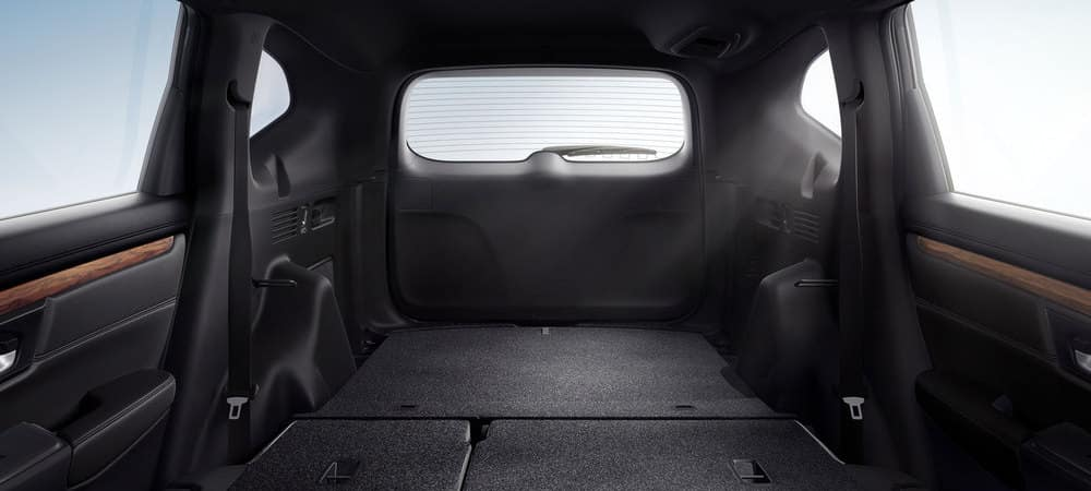 2019 Honda CR-V Folded Back Seats