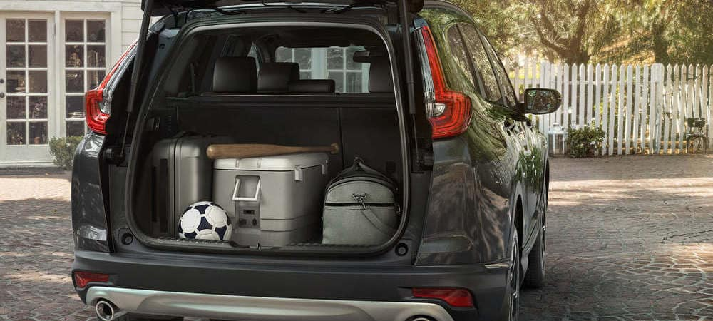 2019 Honda CR-V Stuff In Trunk