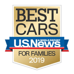 2019 Accord U.S. News Best Midsize Car for Families