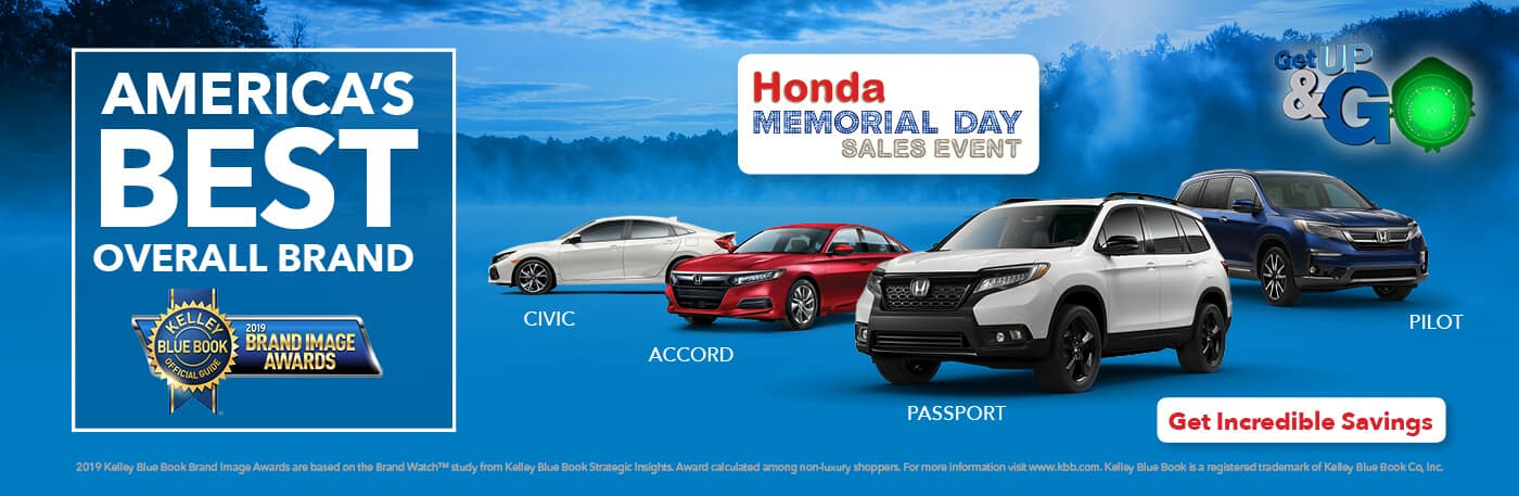 2019 Honda Memorial Day Sales Event Central Illinois Honda Dealers Banner