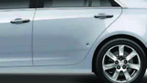side panel of car