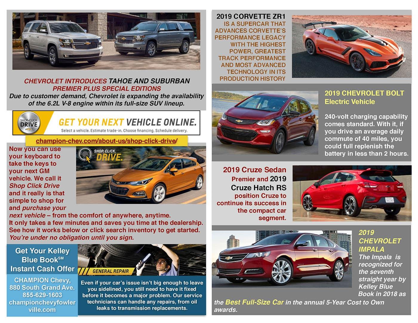 Newsletter l Champion Chevrolet l Fowlerville MI