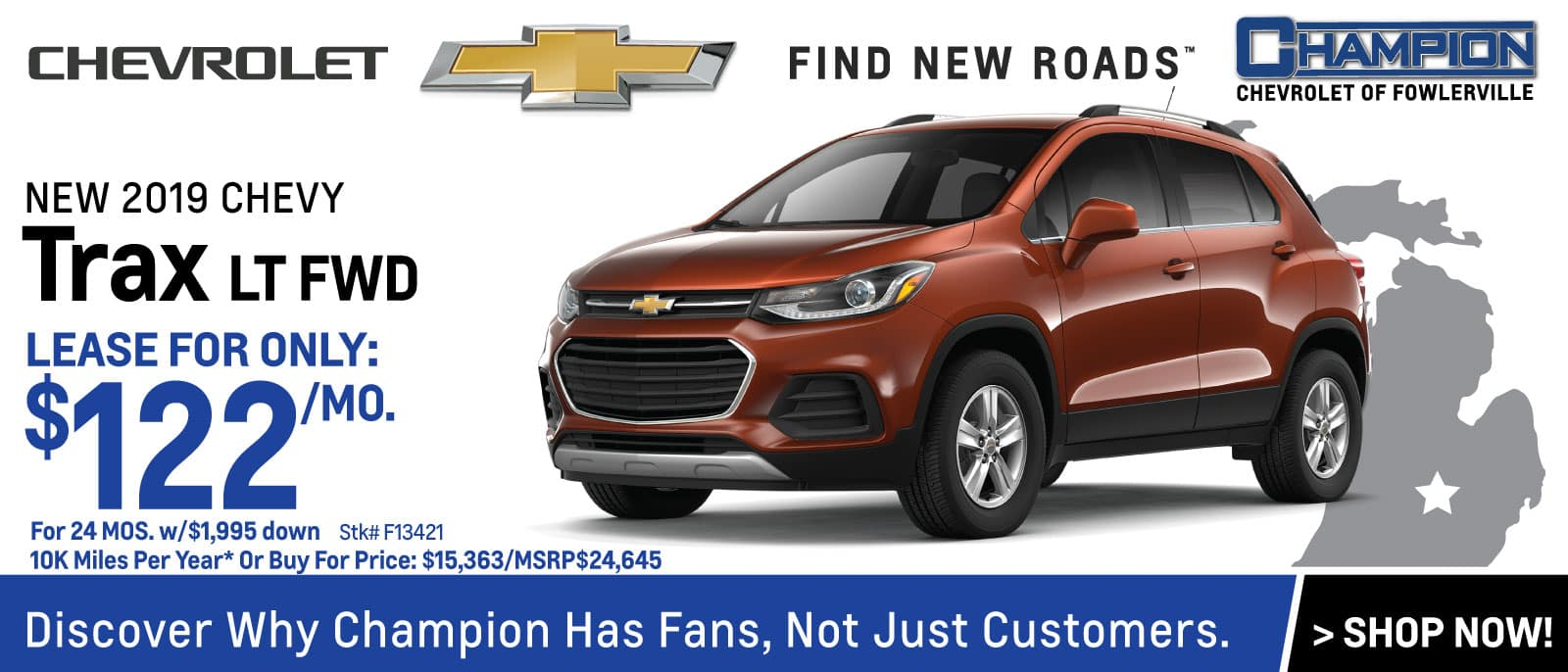 Champion Chevrolet Of Fowlerville Mi New Used Cars