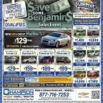 Save Some Benjamins Sales Event at Champion Chevrolet of Howell, Mi