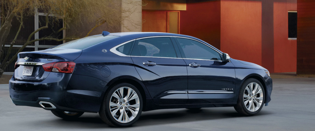 2018 chevrolet impala getting there is the best part fandeluxe Images