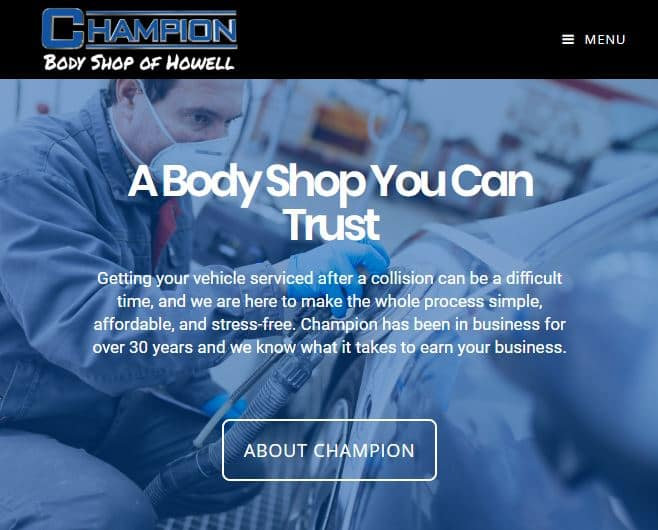 Champion Body Shop Howell