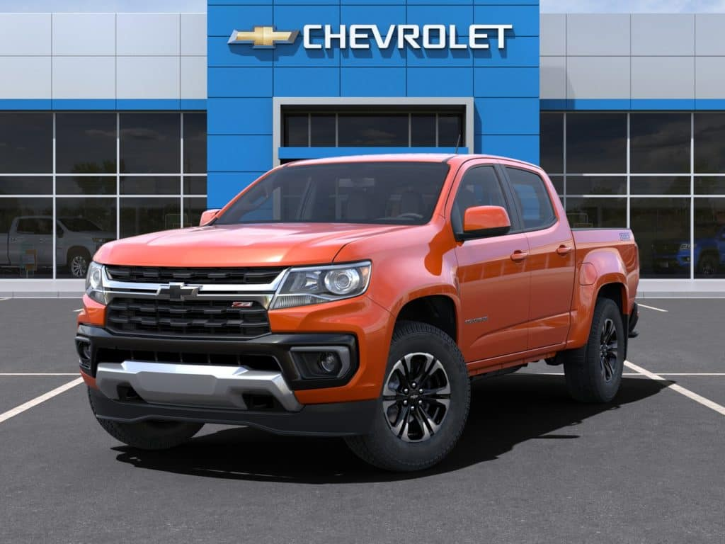 2021 Chevy Colorado Crew Cab 4WD July Lease Offer