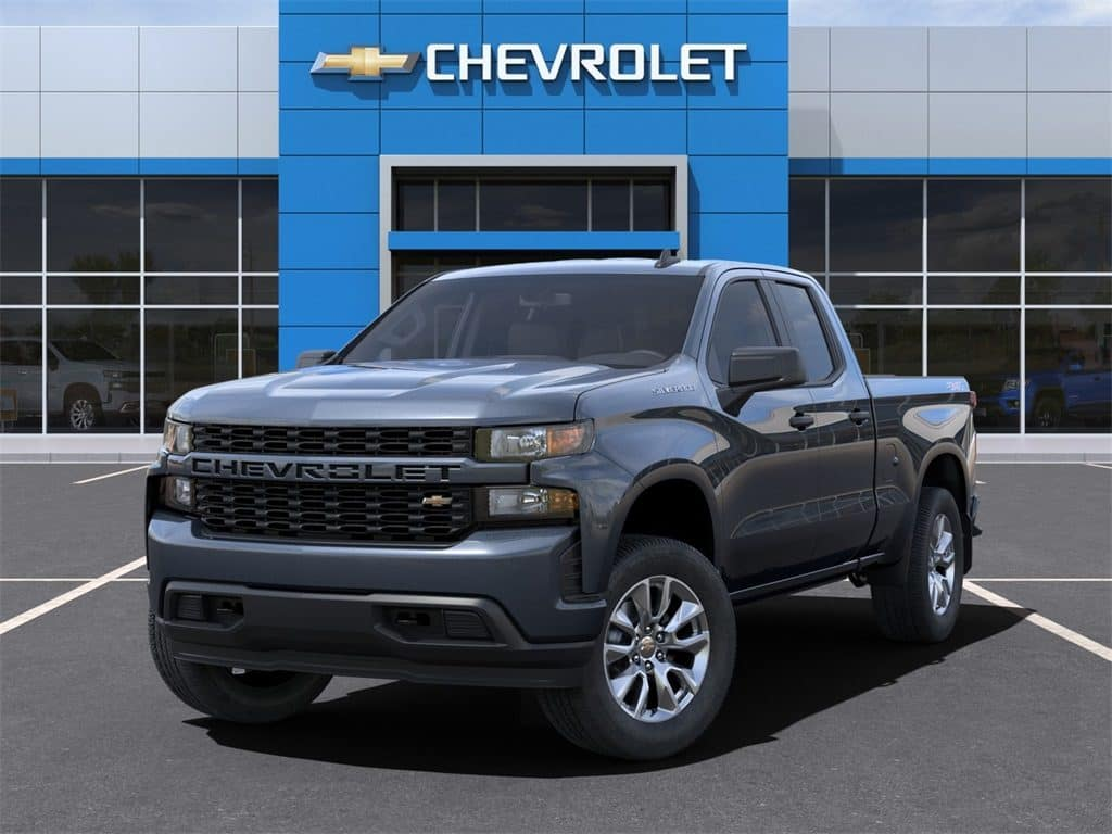 2021 Chevy Silverado 1500 Custom Dbl Cab 4WD December Lease Offer