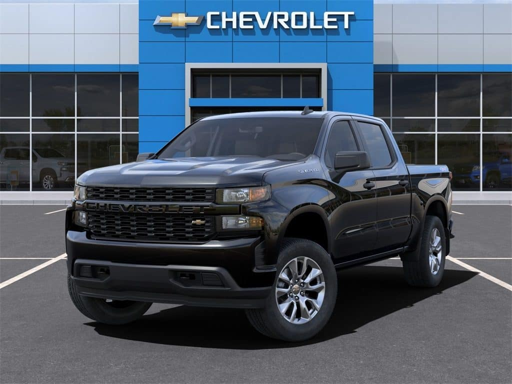 2021 Chevy Silverado 1500 Custom Crew Cab 4WD December Lease Offer