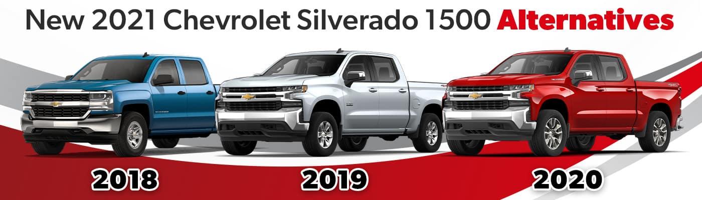 New Silverado 1500 Alternative - Preowned