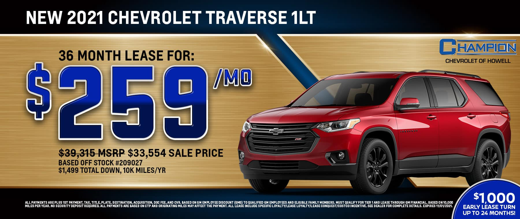 10_21_Champion_Howell_Chevy_1800x760_2021_Traverse_1LT_web_banner