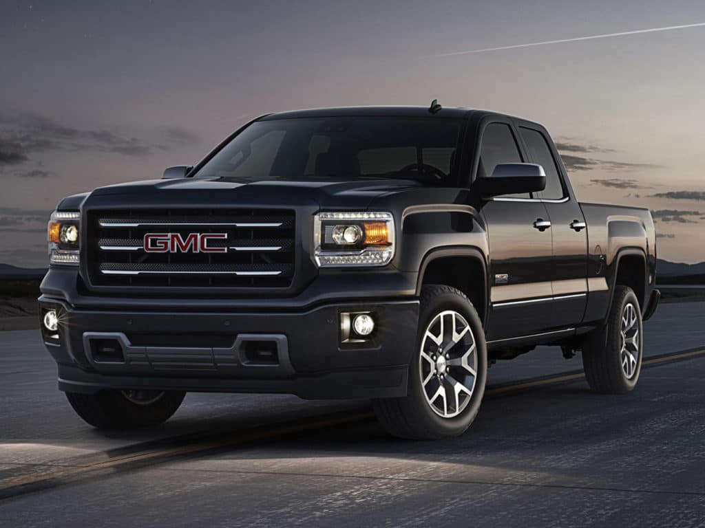 2018 Sierra Dbl Cab 4WD Elevation