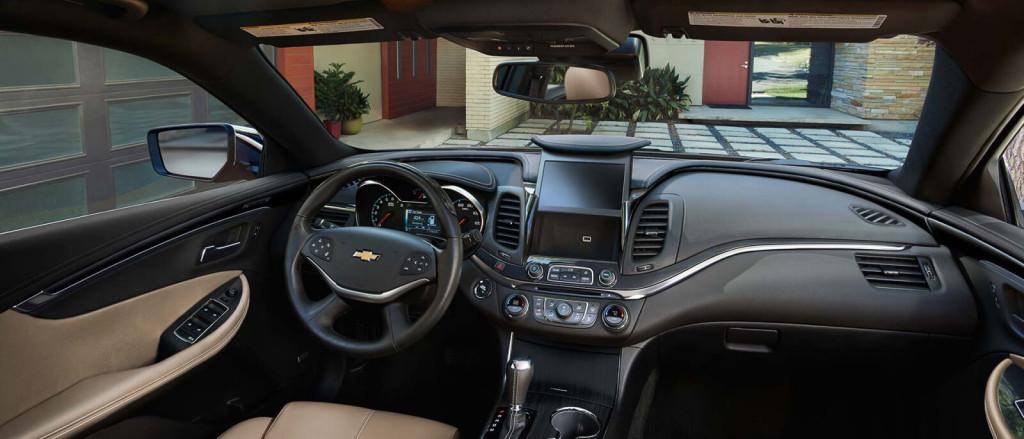 2017-Chevrolet-Impala Interior