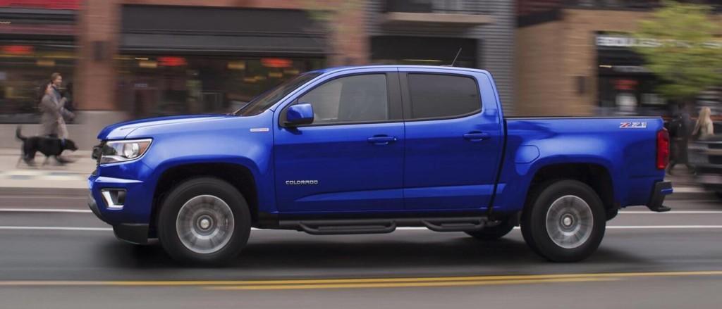 2017 Chevy Colorado Blue