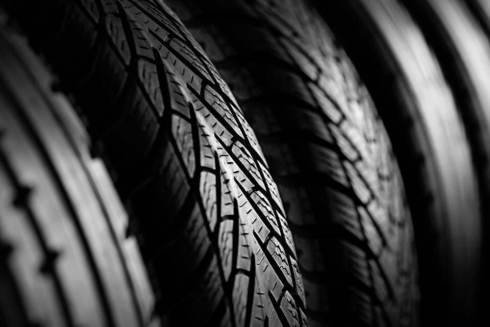 Tires Closeup