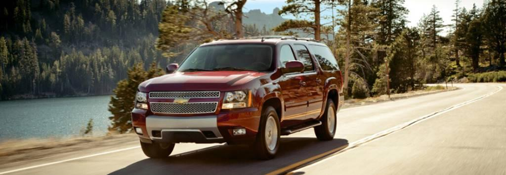 2014 Chevy Suburban Driving