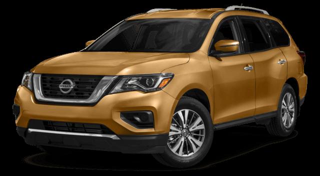 2017 Nissan Pathfinder Orange