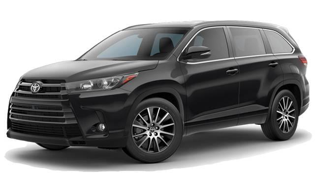 2017 Toyota Highlander Black