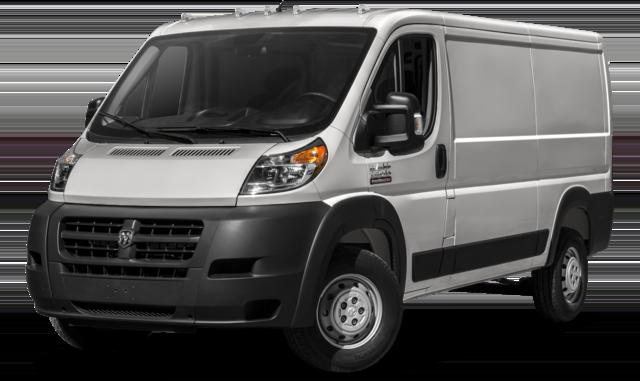 2017 RAM ProMaster Cargo Van comparison