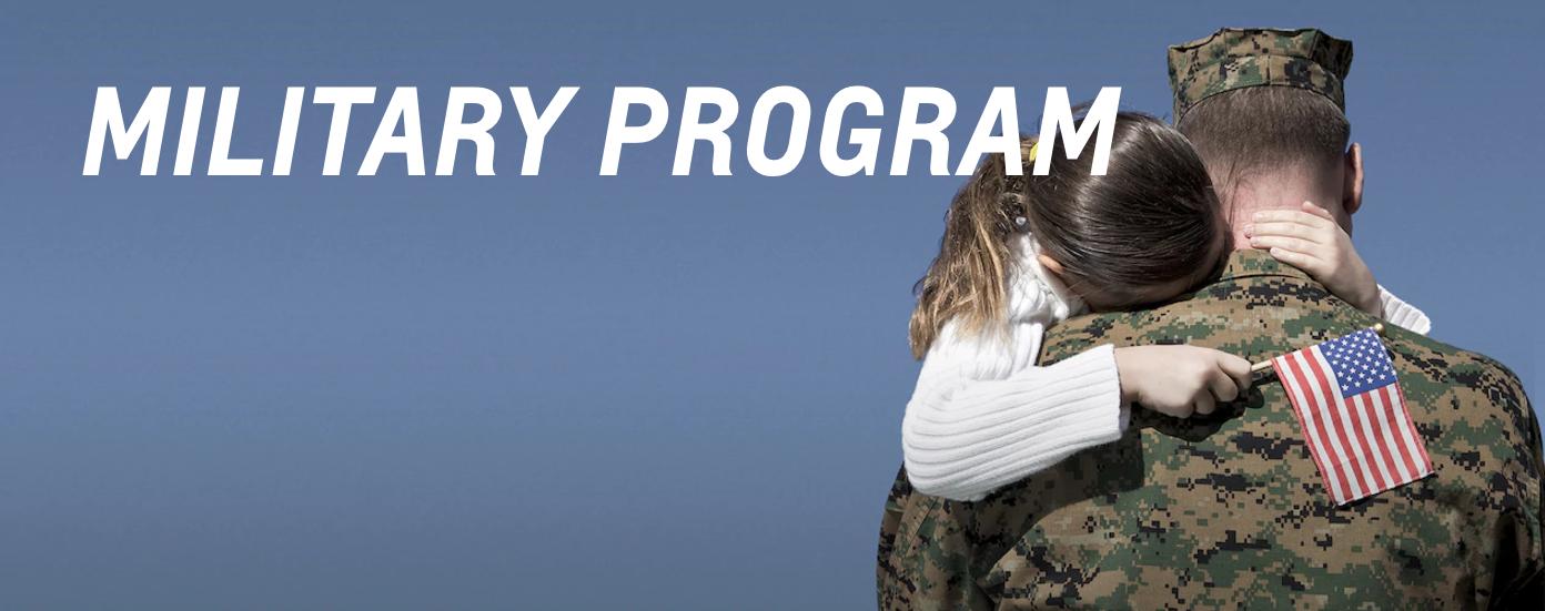 Military Program Banner