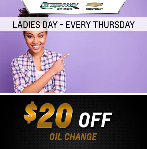 LADIES DAY EVERY THURSDAY
