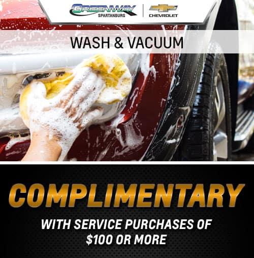 WASH & VACUUM
