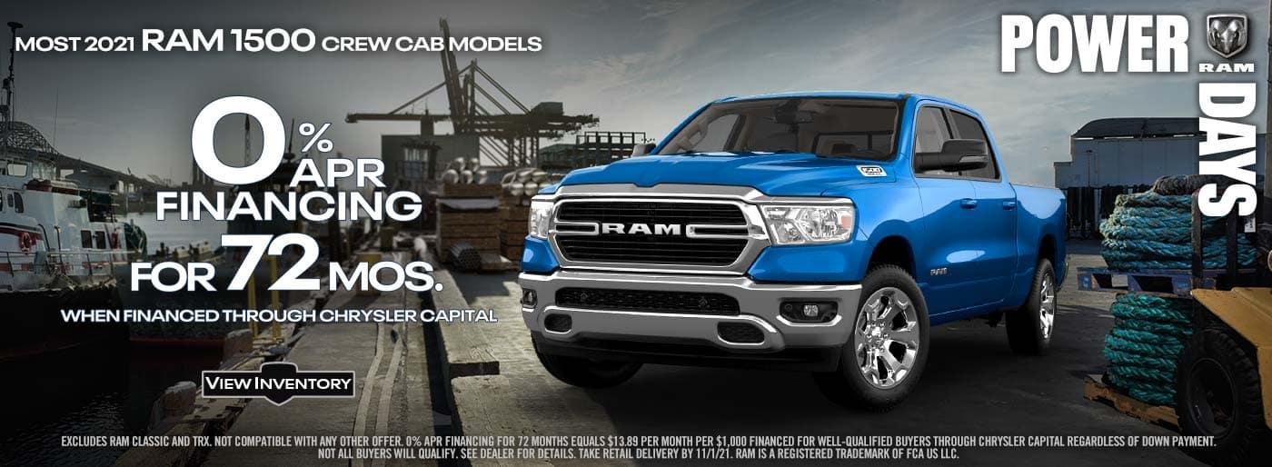 Ram 1500 OCT