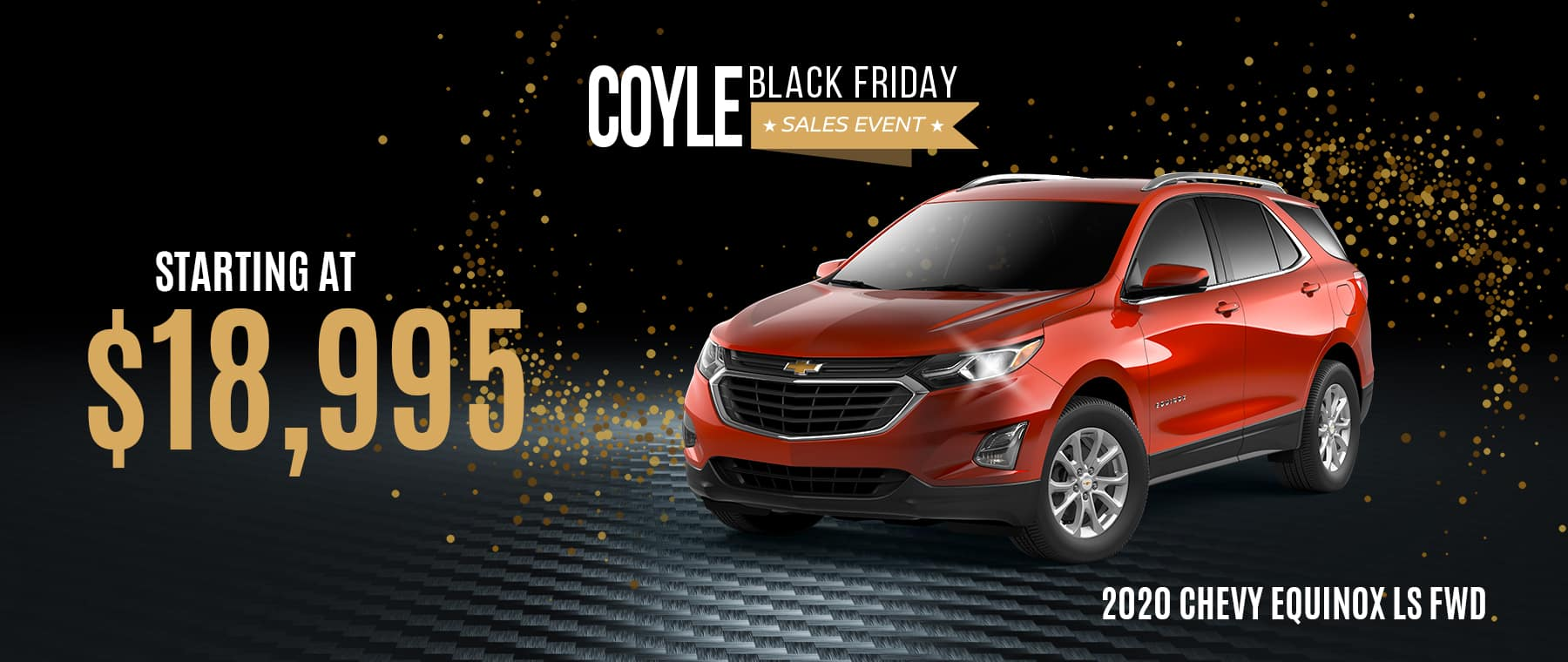Special Pricing on a New Chevy Equinox near Louisville, Kentucky