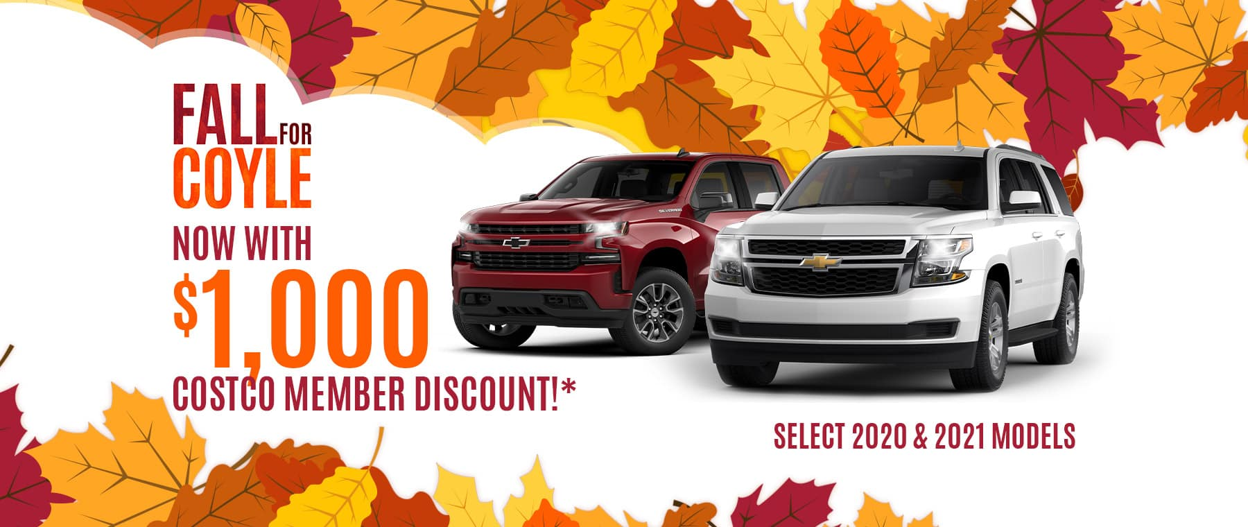 Special Rebate for Costco Members at Coyle in Clarksville, Indiana