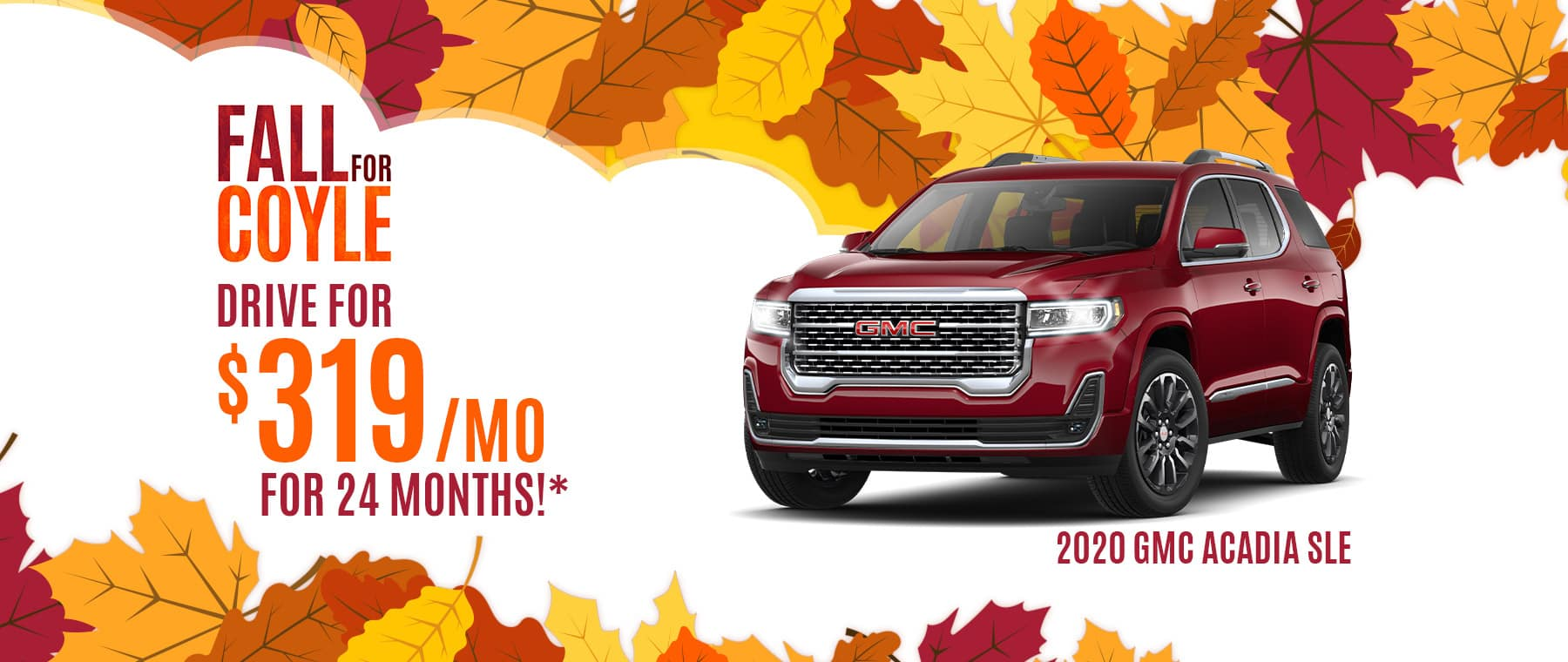 Lease a New GMC Acadia near Jeffersonvillle, Indiana